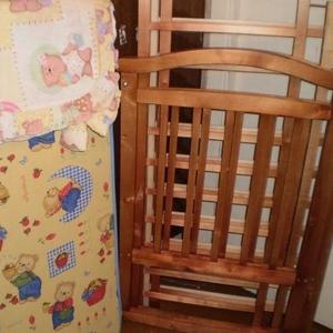Продаётся кроватка деревянная