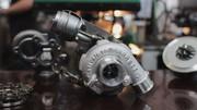 Турбина,  турбокомпрессор на транспорт